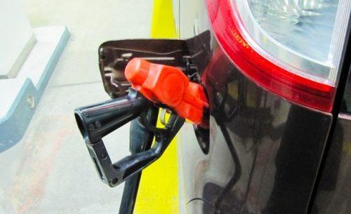 セルフのガソリンスタンド